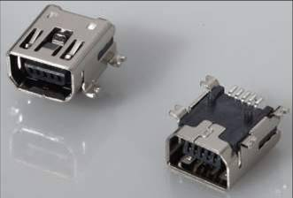 MINI USB 5P female